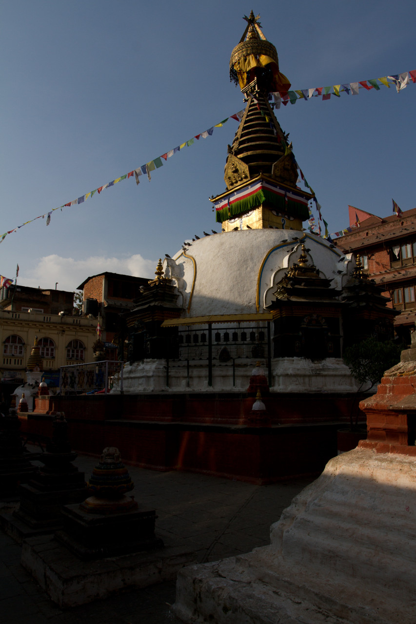 Buddhist stupa in Thamel