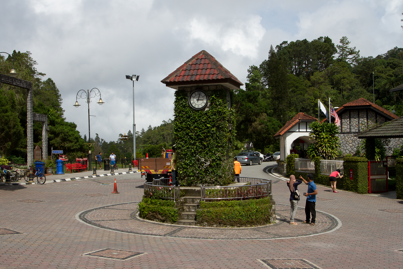 Town Square at Fraser's Hill. Fraser's Hill is home to the annual Malaysian Bird Race and is a hill station created by the British in 1890.