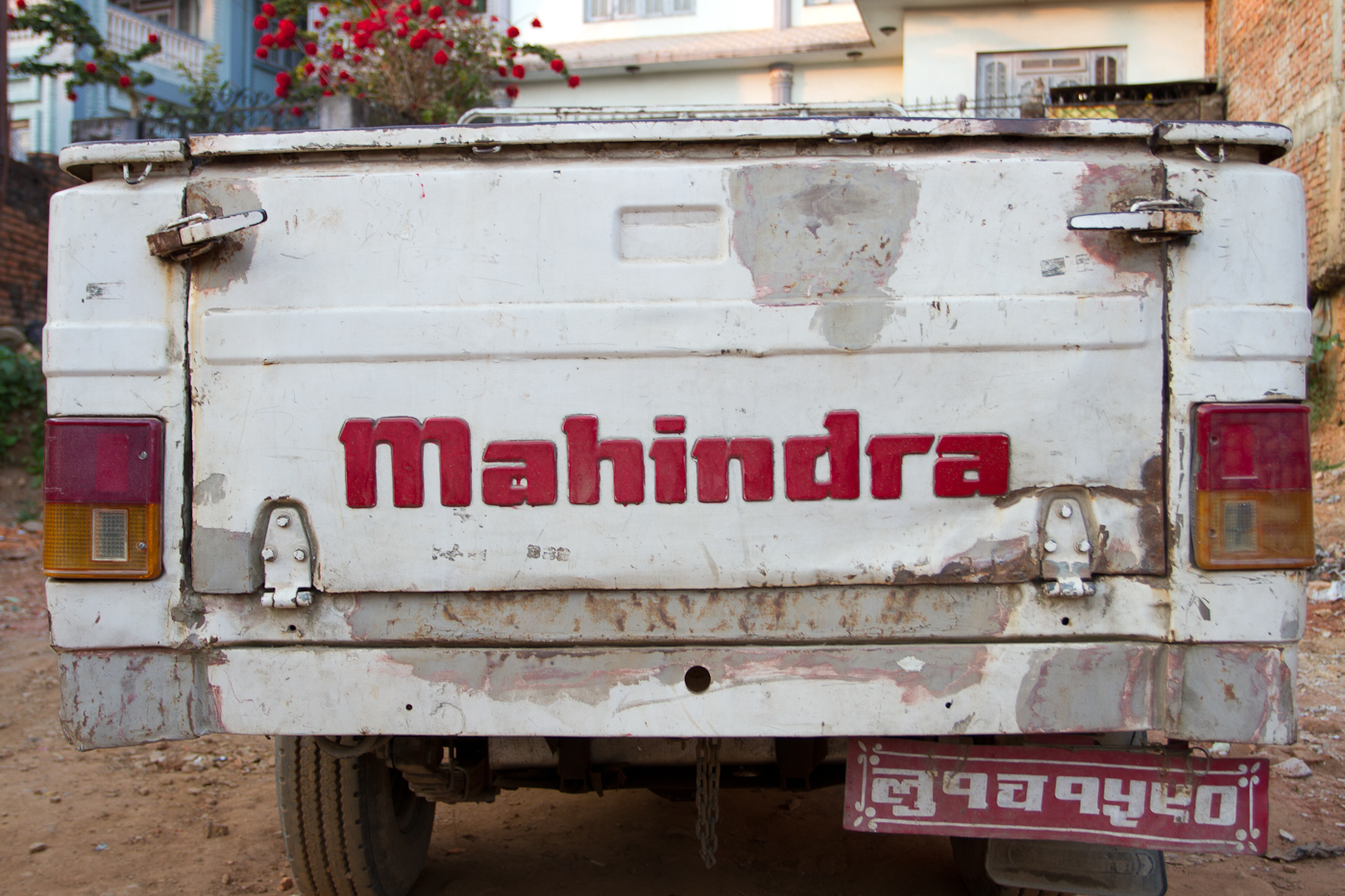 Mahindra, if it has an engine they make it