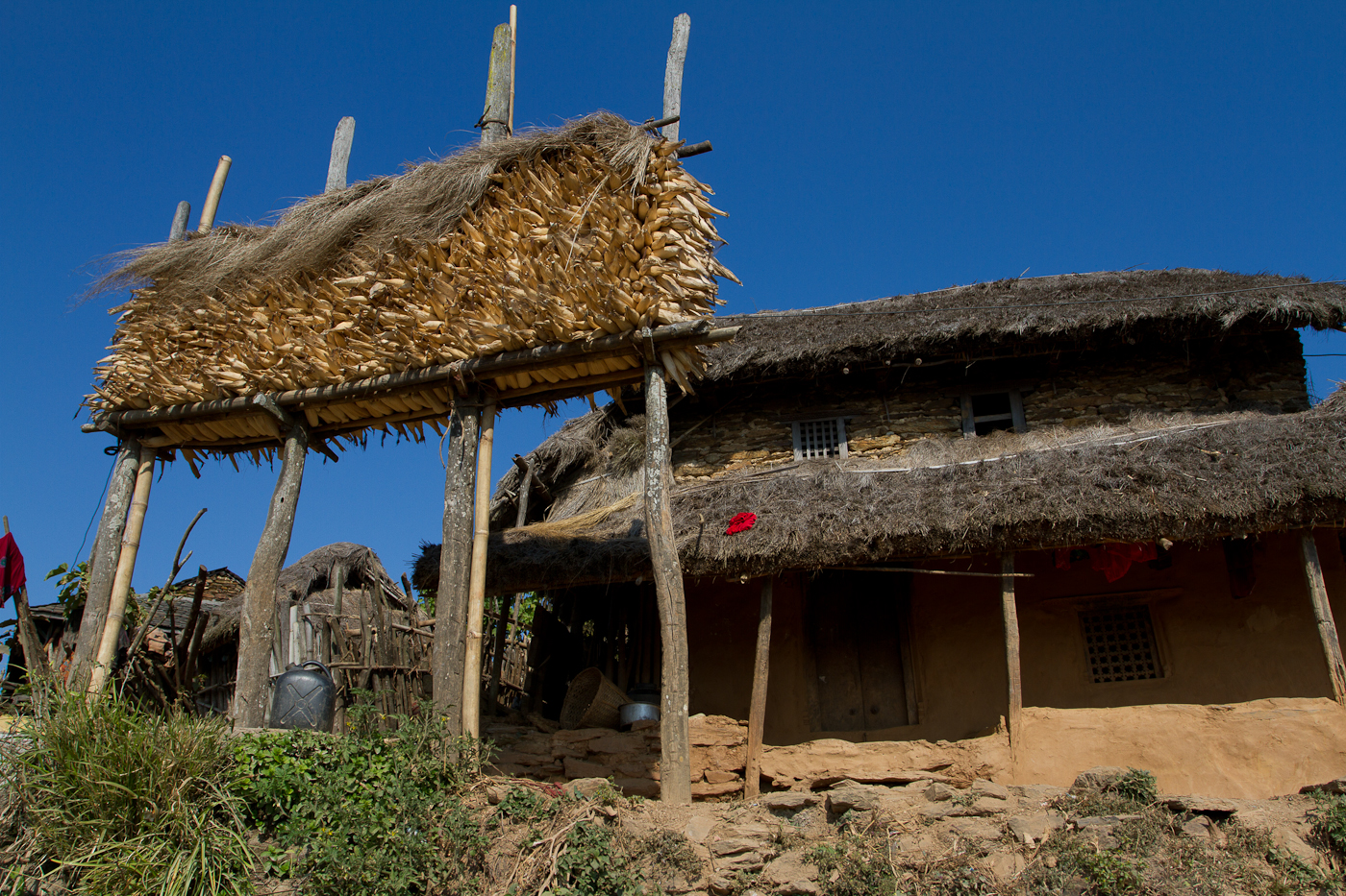 Typical house, Rankot