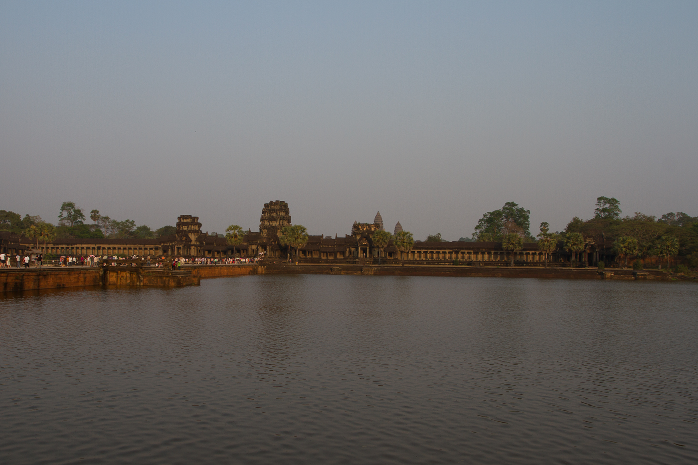 Evening light at Angkor Wat Temple