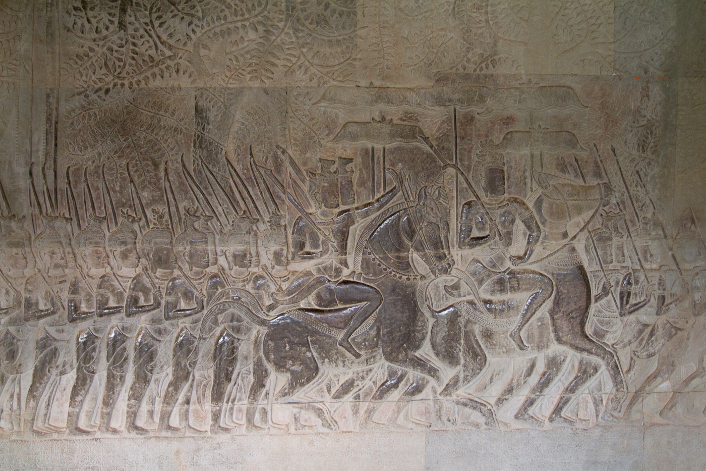 The detailed carvings were impressive.