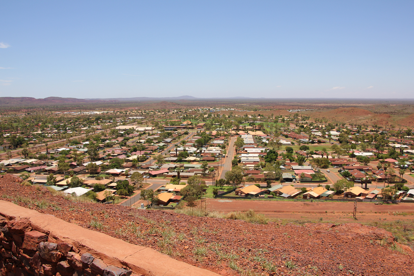 Newman, a mining town in the middle of nowhere in Western Australia