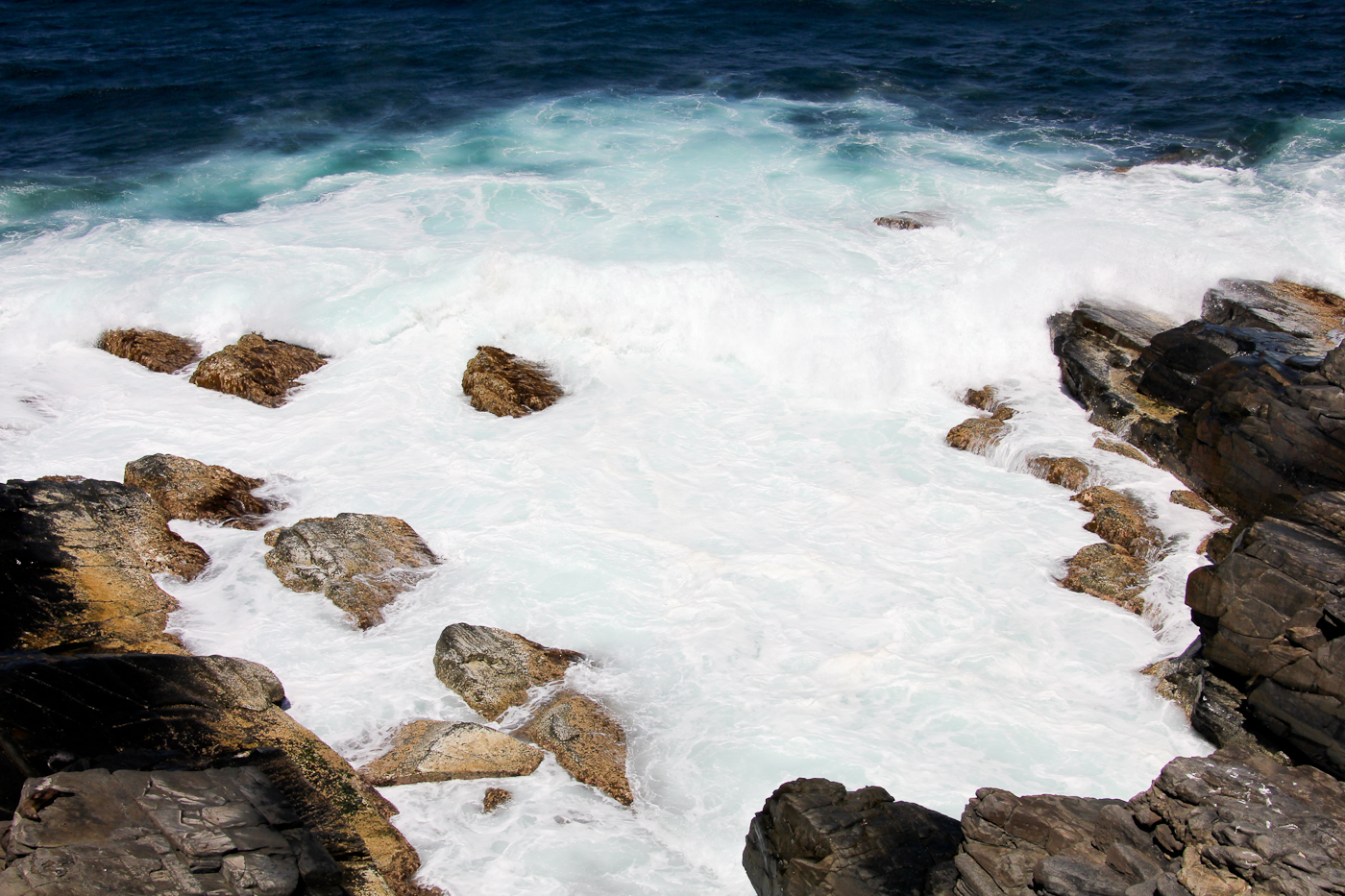 The fierce waters surrounding Kangaroo Island