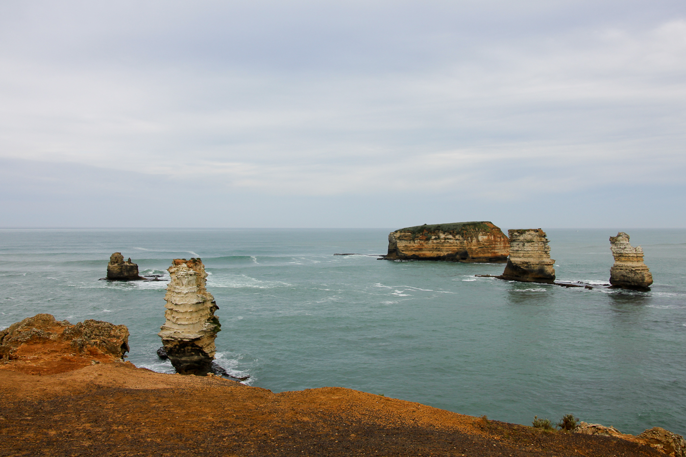 The Twelve Apostles, a stopping point along the Great Ocean Road