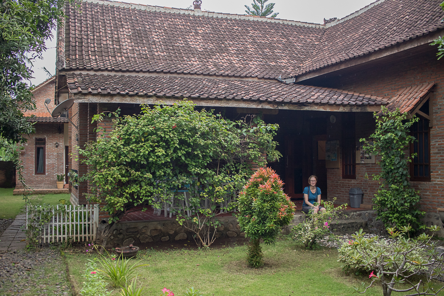 Balorean EcoLodge, a lovely place to stay in the village near Baluran NP.