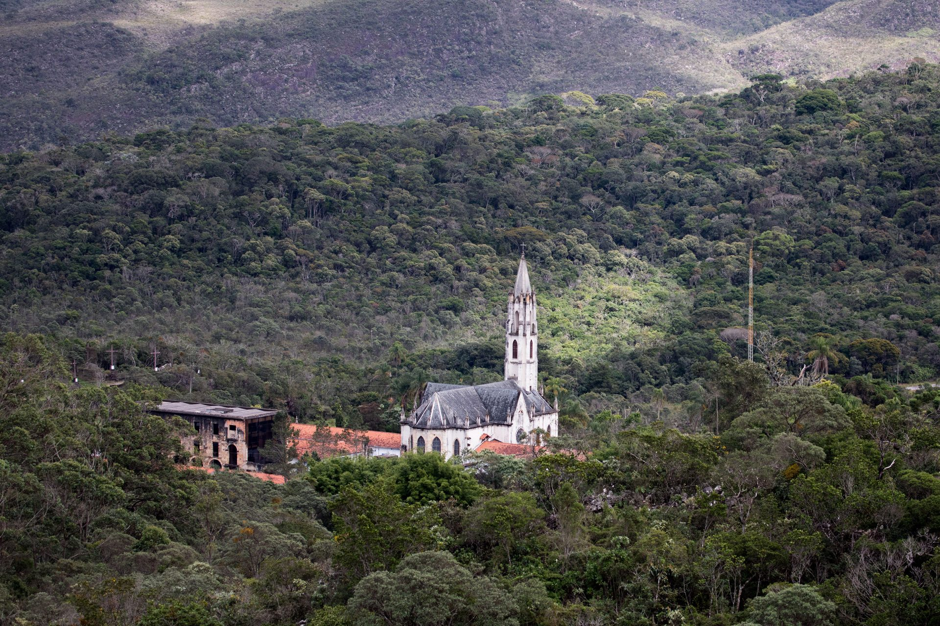 Santuario do Caraca: A relic from the gold rush of the early 1700s, this gem in the middle of montane rainforest is one of the most atmospheric places we have ever visited.
